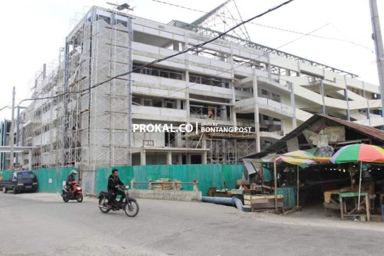 Pemenuhan beberapa sarana penunjang Pasar Rawa Indah sebagian telah dikerjakan oleh kontarktor pelaksana yakni PT Sasmito.(prokal)