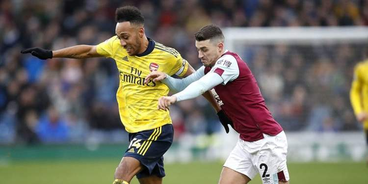 Burnley vs Arsenal. (AP Photo)
