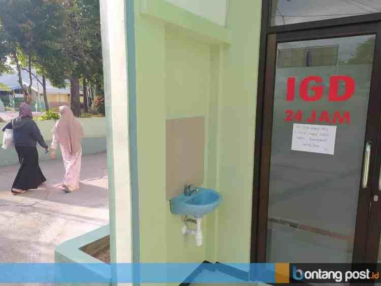 Pelayanan Instalasi Gawat Darurat (IGD) di Rumah Sakit Islam Bontang (RSIB) ditutup sementara waktu. (Adiel Kundhara/KP)