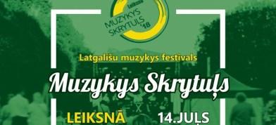 "Festivals ""Muzykys Skrytuļs 2018"""