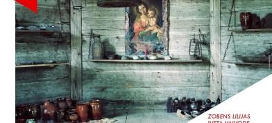 "Ivetys Vaivodis Latgolai veļteita fotoizstuode ""Zobens lilijas"""