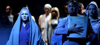"Daugovpiļs teatra izruode ""Nūgrymušō pile"""