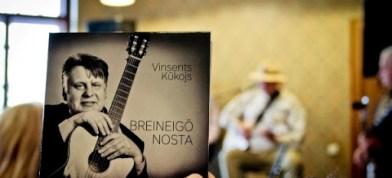 "Vinsents Kūkojs ar albumu ""Breineigō nosta"""