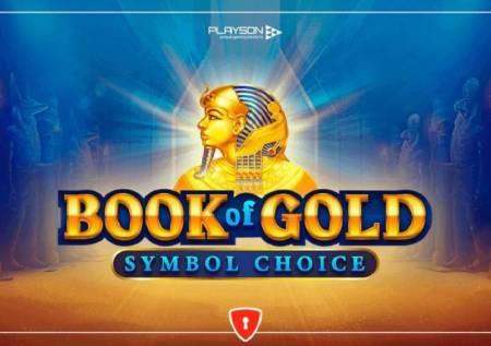 Book of Gold Symbol Choice – biraj svoj dobitak