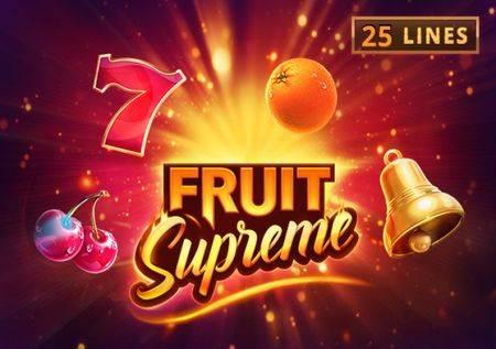 Fruit Supreme – slot osjetite slast  voćkica!