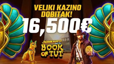 VIŠE OD PRIČE: Veliki kazino dobitak otišao u novčanik Novljaninu!