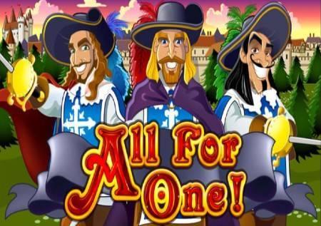 All For One – slot koji će vam ispričati priču o tri musketara!