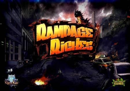 Rampage Riches– strip u formi slota sa više bonusa!
