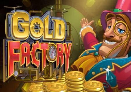 Gold Factory vas vodi u srce fabrike i daruje bonusima u kazino igri!
