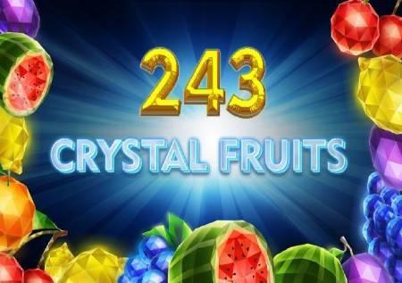 243 Crystal Fruits – kristalne voćkice vas vode do sjajnih dobitaka!