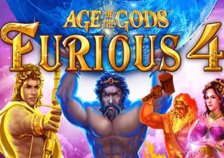 Age of the Gods: Furious 4 – nevjerovatni džekpotovi u novom slotu!