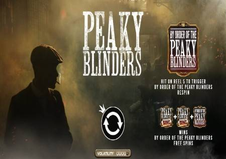 Peaky Blinders – poznata serija u obliku kazino igre!