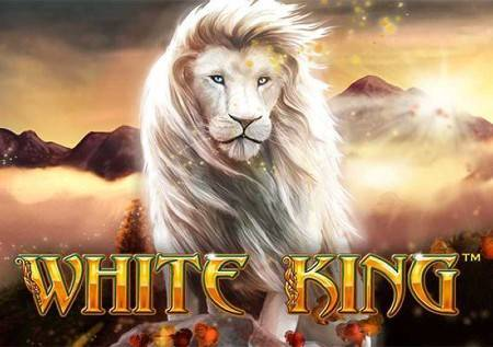 White King – bijeli lav u kazino igri, sa mnogo zabave!