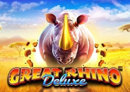 Great Rhino Deluxe – bonusi u afričkoj savani!