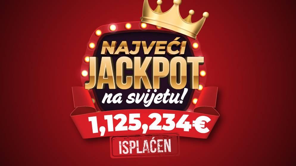 Kazino džekpot od 1.1 MILION EURA isplatio MERIDIAN!
