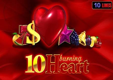 10 Burning Heart – magija uz crveno srce!
