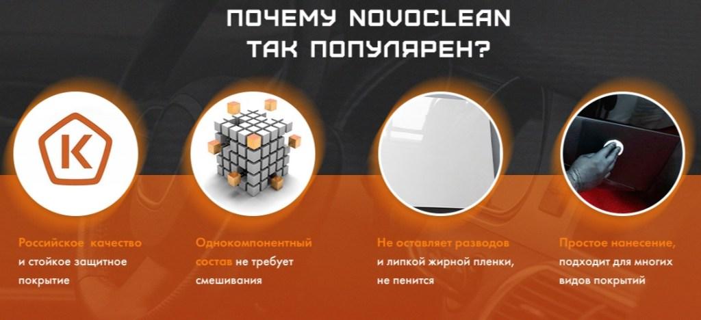 NovoClean - очиститель для салона авто