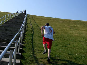 pierde greutate hill sprints