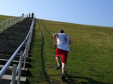 5 reasons why hill sprints kick ass - tony bonvechio diagram of hills running