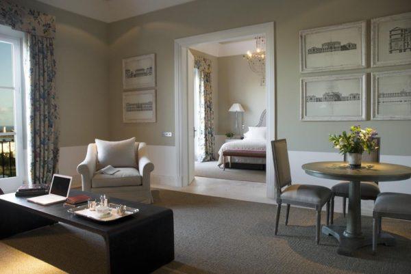 bedroom spaces at Hotel Finca Cortesin
