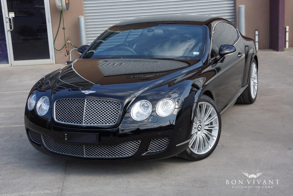 Bon Vivant Rejuvenation Services | Premier Package | Bentley Continental GT Speed