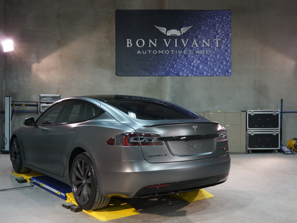 Bon Vivant Paint Protection Coating   Opti-Coat Pro+   Tesla Model S P90D
