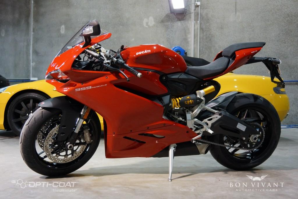Bon Vivant Paint Protection Coating   Opti-Coat Motorcycle Protection   Ducati 959