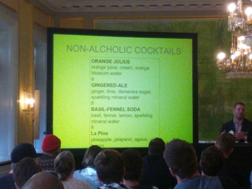 Non-Alcoholic Cocktails