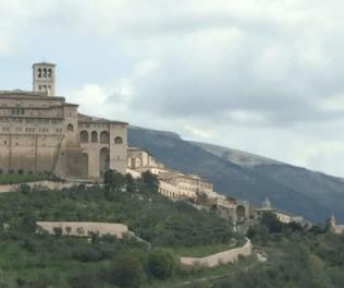 Day view of Basilica of San Francesco d'Assisi