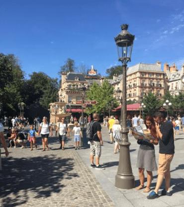 Outside Disney's new Ratatouille attraction - Photo by: Anna Luisa Van Haute