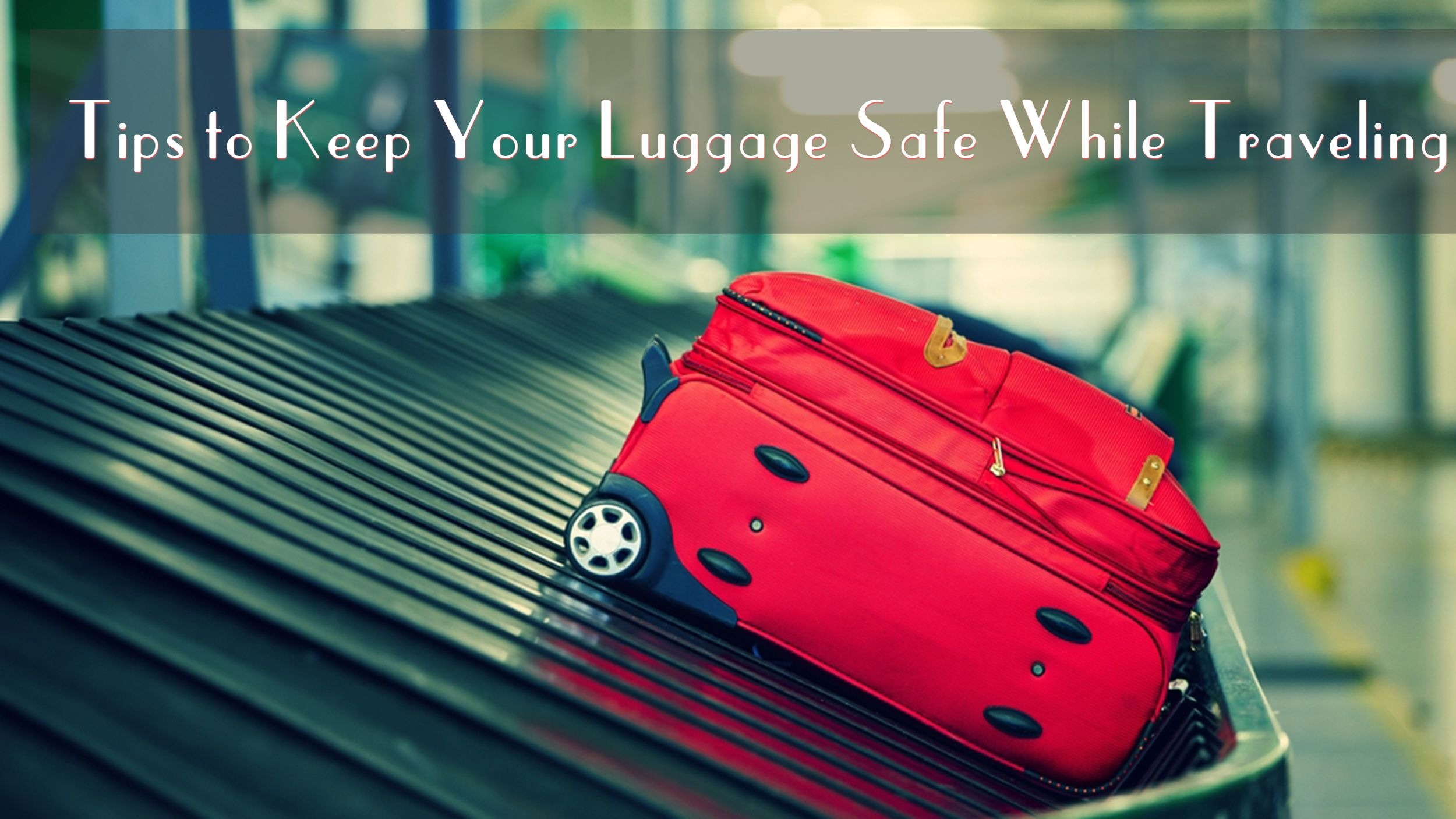There have been cases when luggage of travelers have been misplaced from hotel lobbies, buses, train and nowadays, even from flights. To ensure you have your stuff protected, follow these tips to keep luggage safe while traveling.