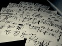 """Practiced """"Suetterlin"""" script today - old German handwriting. So far lowercase & a few names... #Calligraphy x"""