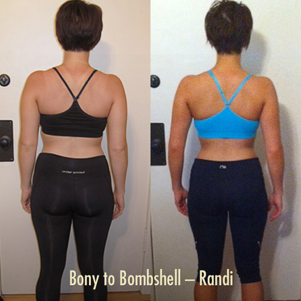 Randi's Bony to Bombshell Transformation