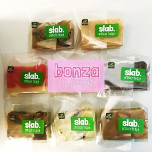 Bonza Slab Artisan Fudge - Vegan Category Pic