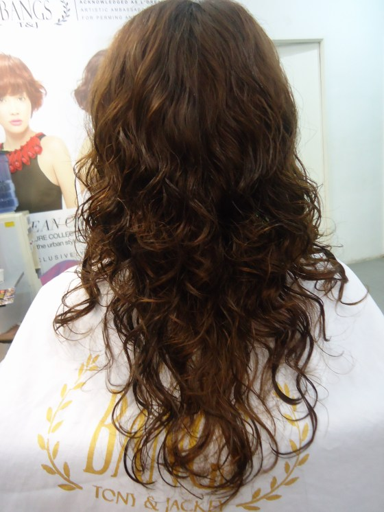 back view after digiperm.