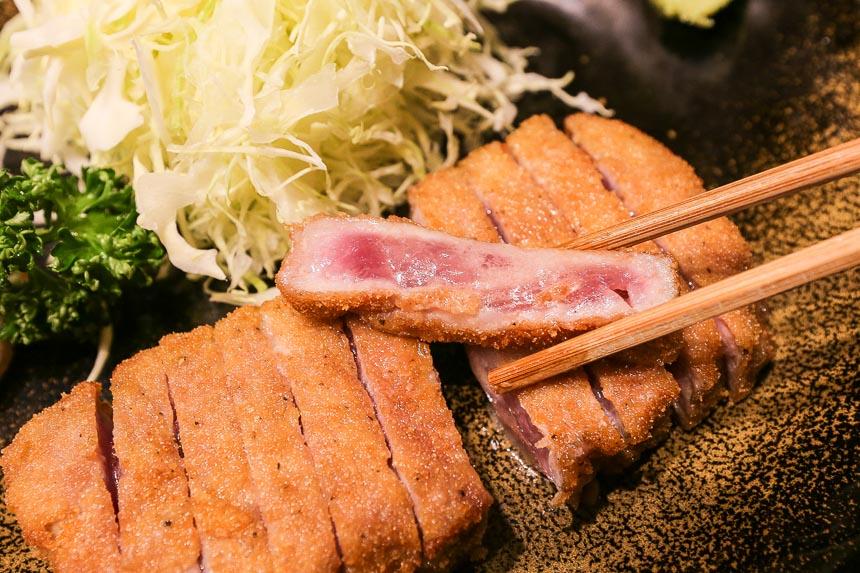 東京美食 炸牛排 牛かつもと村