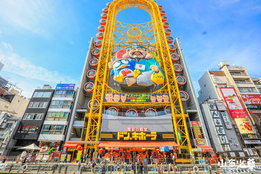 大阪,大阪景點地圖
