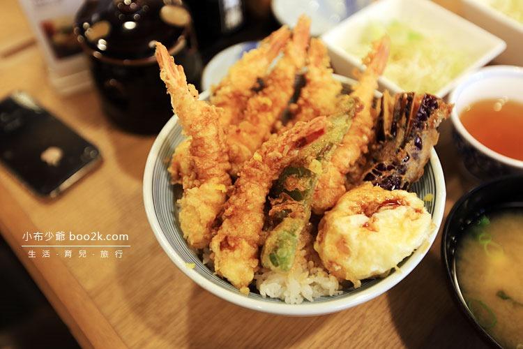 [台北東區]天吉屋 天丼專賣店 (てんどん)天婦羅蓋飯 炸蔬菜比炸蝦好吃