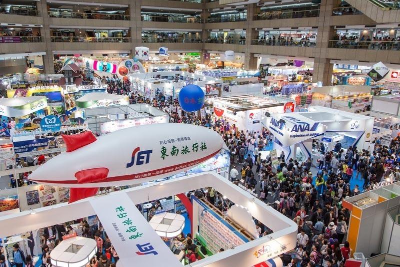 2014台北國際旅展展場俯瞰