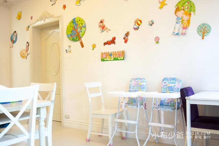 [高雄親子餐廳]幸福寶貝親子餐廳,小而溫馨的純白親子空間