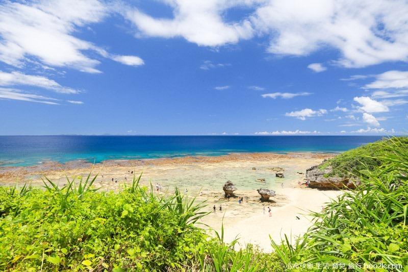 2016沖繩愛心礁石 潮間帶-3200