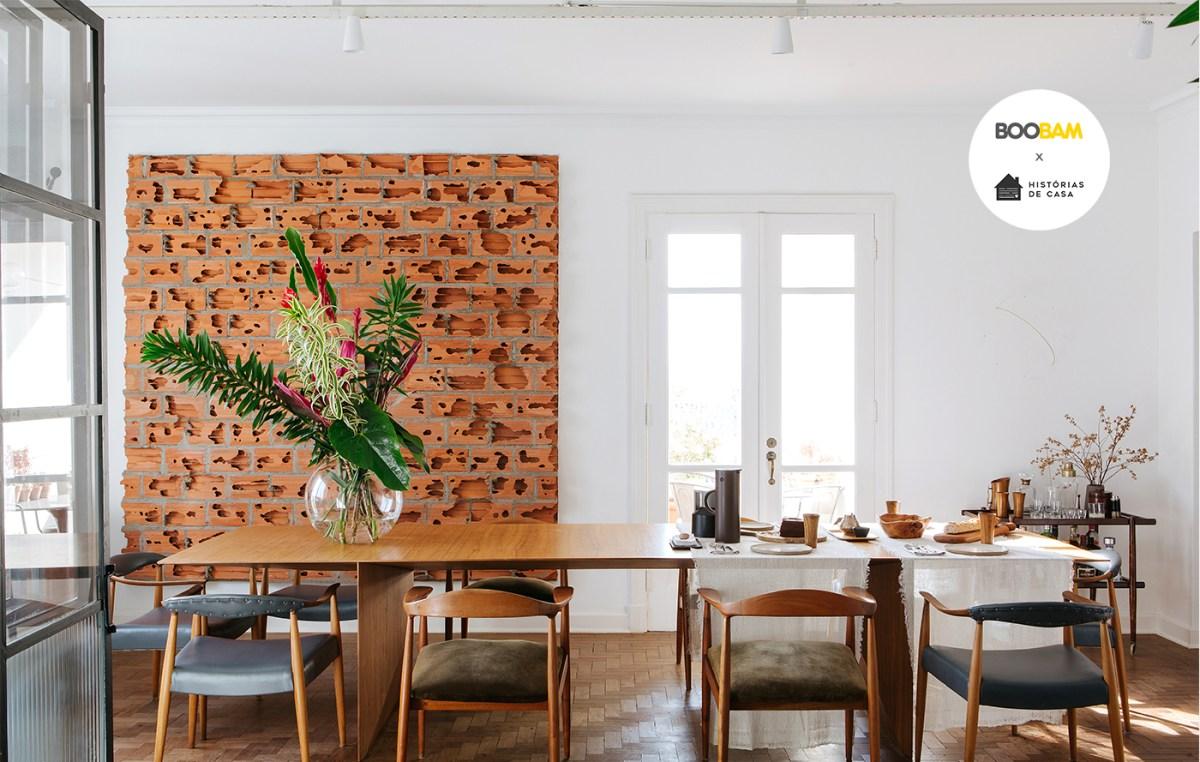 Olhar de colecionador: arte e design inseridos no apartamento e na rotina de uma família.