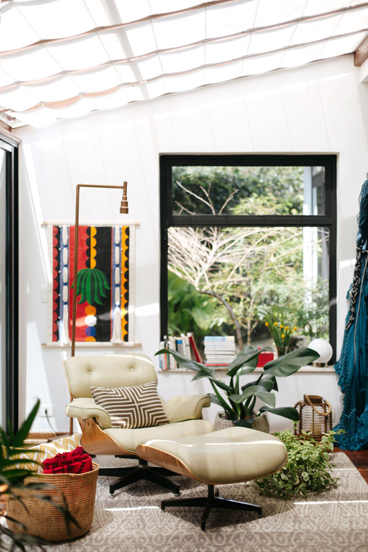 A casa da designer Lívia Amaral