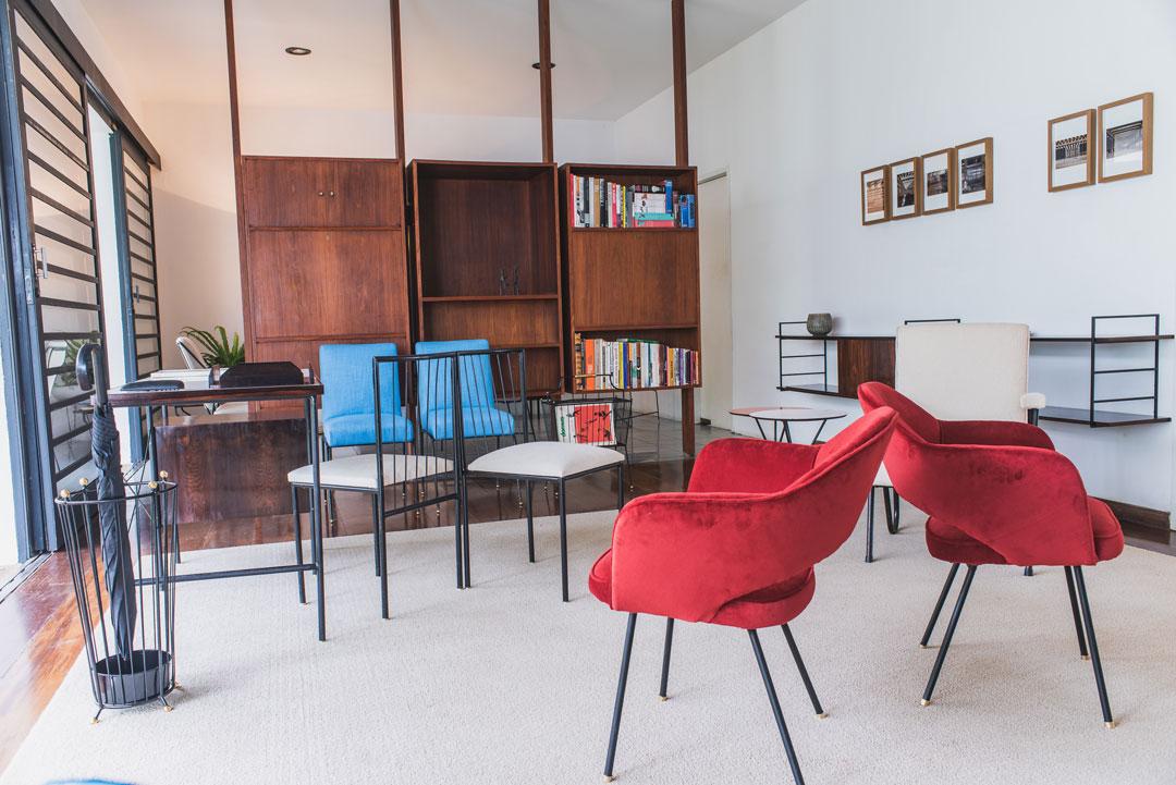 Apartamento 61: mobiliário brasileiro do século XX