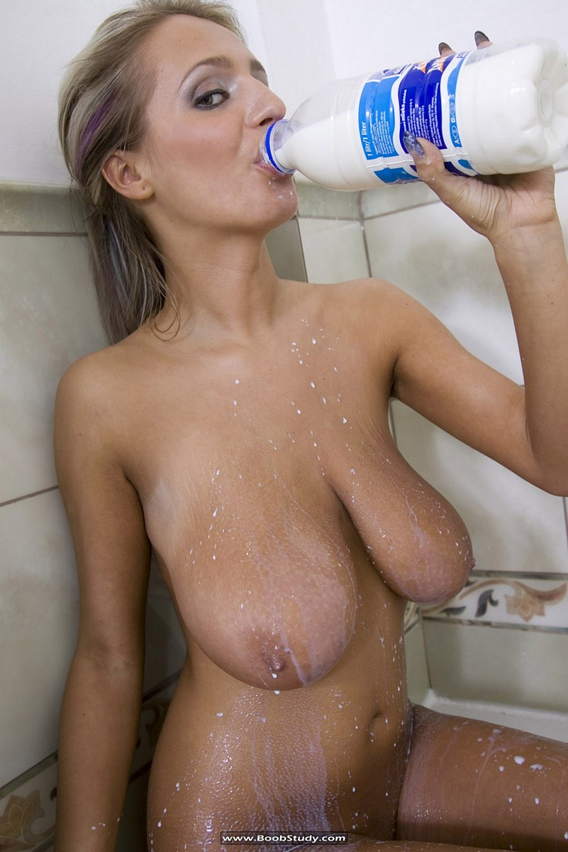 Massive milky boobs