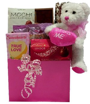 sweets Gift Basket for my sweetie