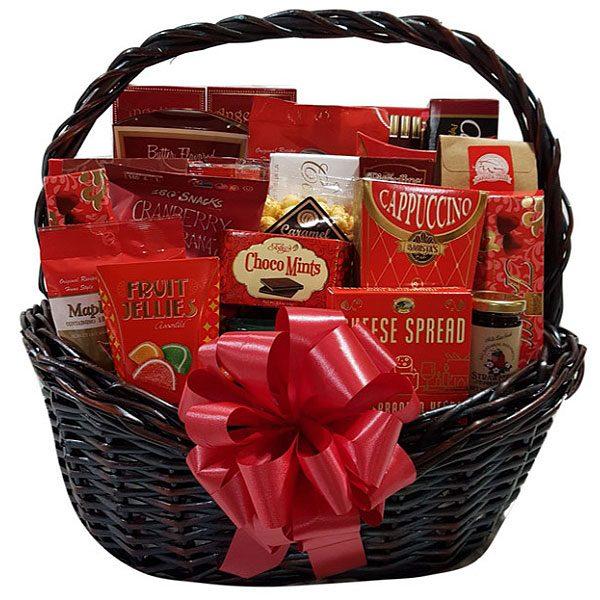 cornucopia Gift Basket