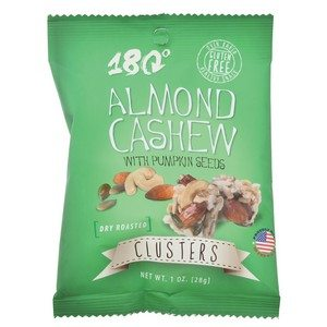 180 Joy Clusters Almond Cashew 28g-1oz