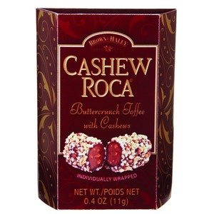 Brown & Haley Cashew Roca Burgundy 0.4 oz-11g