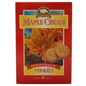 Canada True Maple Cream Cookies 200g